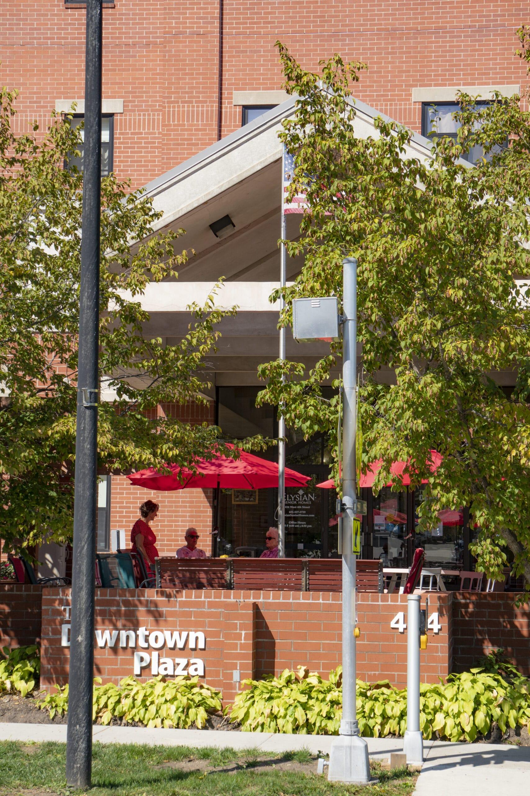 Downtown Plaza Exterior
