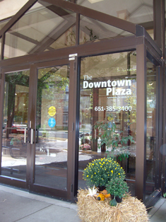 The Downtown Plaza Main Door