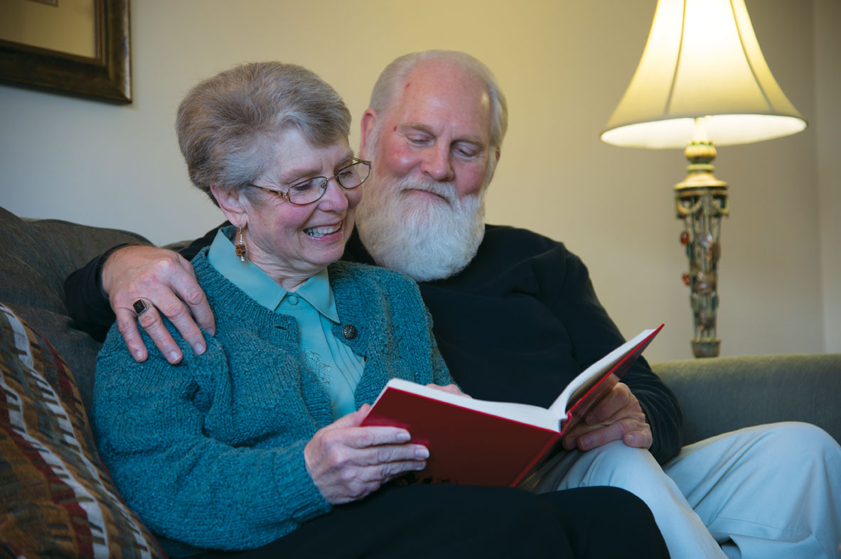 The Downtown Plaza Residents Reading